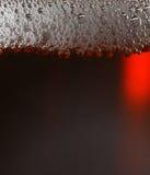 Dunkles Bier. Lizenzfreies Stockfoto