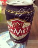 Dunkles Bier stockbild