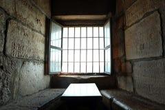 Dunkles Fenster Lizenzfreies Stockbild
