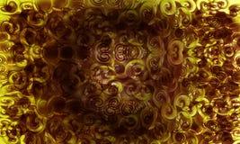 Dunkles Gelb eins Lizenzfreie Stockfotografie