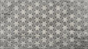 Dunkles Gray Vintage Decorative Ornament Wallpaper-Muster lizenzfreie abbildung