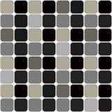 Dunkles Grey Patch Board Repeatable Pattern auf Weiß lizenzfreie abbildung