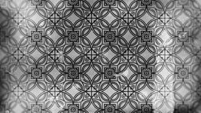Dunkles Grey Vintage Decorative Floral Ornament-Tapeten-Muster-Bild vektor abbildung