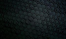 Dunkles Hexagonmuster 1 Stockfotos