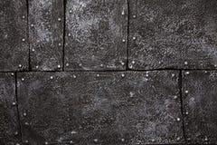 Dunkles Metallmuster Lizenzfreies Stockfoto