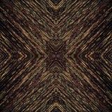 dunkles Muster der Pixel mit Feingoldstrukturen Stockfotografie