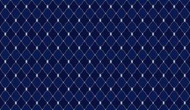 Dunkles Muster des Marineblaus Tiefe königliche nahtlose Verzierung für kleine Prinzpartei lizenzfreie abbildung