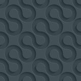 Dunkles perforiertes Papier Lizenzfreies Stockfoto