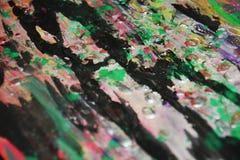 Dunkles Rosa grren weiches, kreativer Hintergrund der Kontraste Lizenzfreie Stockbilder