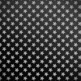 dunkles Schneeflockenmuster Stockbild