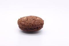 Dunkles Schokoladenplätzchen Lizenzfreies Stockbild