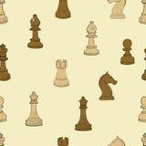 Dunkles und helles Schach Lizenzfreies Stockfoto