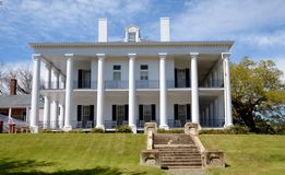 Dunleith Mansion Stock Photo