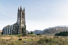 Dunlewey kościół w jad roztoce obraz royalty free