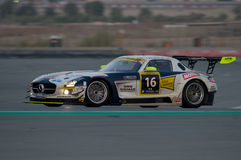 Dunlop 2012 24 heures de chemin à Dubaï Photos stock