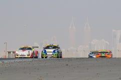 Dunlop 2012 24 heures de chemin à Dubaï Image stock
