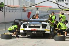 Dunlop 2012 24 heures de chemin à Dubaï Images stock