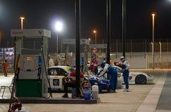 Dunlop 2012 24 heures de chemin à Dubaï Photos libres de droits