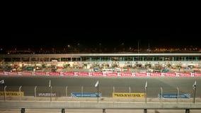 Dunlop 2012 24 heures de chemin à Dubaï Images libres de droits