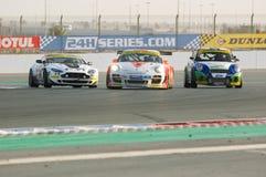 Dunlop 2012 24 horas compete em Dubai Fotos de Stock Royalty Free