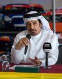 Dunlop 2012 24 horas compete em Dubai Imagens de Stock Royalty Free