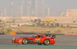 Dunlop 2012 24 horas compite con en Dubai Fotografía de archivo libre de regalías
