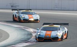 Dunlop 2012 24 horas compite con en Dubai Imagen de archivo libre de regalías