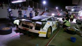 Dunlop 2012 24 horas compite con en Dubai Foto de archivo libre de regalías