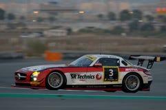 Dunlop 2012 24 horas de raça em Dubai Fotografia de Stock Royalty Free