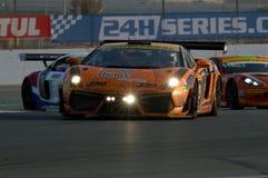 Dunlop 2012 24 horas de raça em Dubai Fotos de Stock