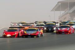 Dunlop 2012 24 horas de raça em Dubai Foto de Stock Royalty Free