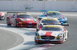 Dunlop 2012 24 horas de raça em Dubai Imagens de Stock