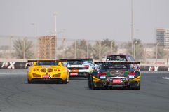 Dunlop 2012 24 horas de raça em Dubai Imagem de Stock
