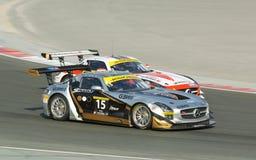Dunlop 2012 24 horas de raça em Dubai Imagens de Stock Royalty Free