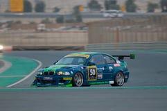 Dunlop 2012 24 horas de raza en Dubai Foto de archivo libre de regalías