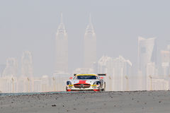 Dunlop 2012 24 horas de raza en Dubai Fotografía de archivo