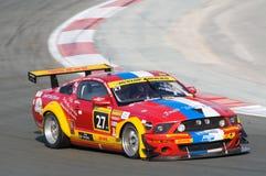 Dunlop 2012 24 horas de raza en Dubai Imágenes de archivo libres de regalías