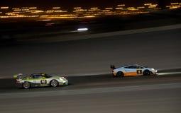 Dunlop 2012 24 horas de raza en Dubai Fotografía de archivo libre de regalías