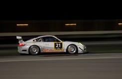 Dunlop 2012 24 horas de raza en Dubai Imagen de archivo libre de regalías