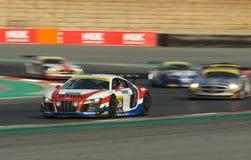 Dunlop 2012 24 horas de raza en Dubai Fotos de archivo