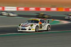 Dunlop 2012 24 horas de raza en Dubai Imagenes de archivo