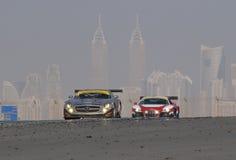 Dunlop 2012 24 ore di corsa in Doubai Immagine Stock Libera da Diritti