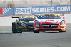 Dunlop 2012 24 Stunden Rennen-in Dubai Lizenzfreie Stockfotografie
