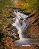 Dunlop Falls, Gatineau Park stock photos