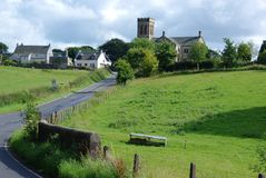 Dunlop, Scotland. The village of Dunlop, Ayrshire, Scotland Stock Photos