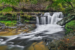 Dunloup Falls Royalty Free Stock Images