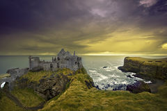 dunluce замока Стоковое Изображение