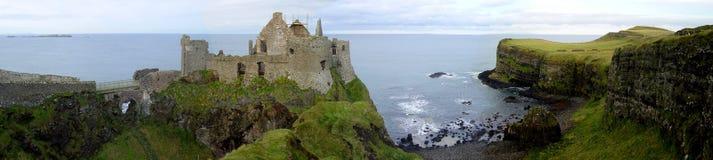 城堡dunluce 免版税库存照片
