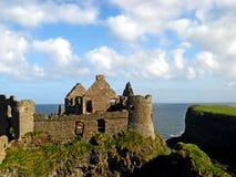 Dunluce Castle 12. Dunluce Castle on the Northern Ireland coast Royalty Free Stock Photography
