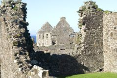 Dunluce castle. Antrim coast Northern Ireland royalty free stock image